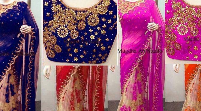 Designer saree just RS 1650/-