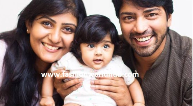 Adorable photos of Allari Naresh Daughter!