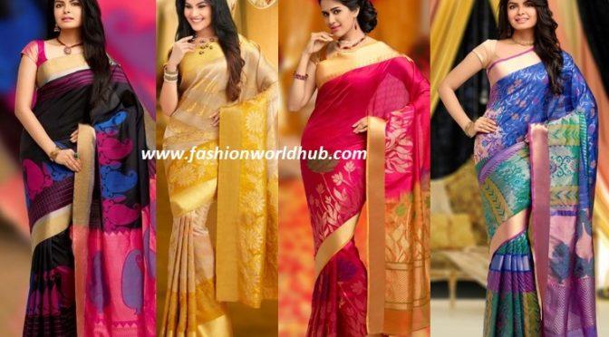 Discounted sale Kanchipuram Sarees ( Buy online)