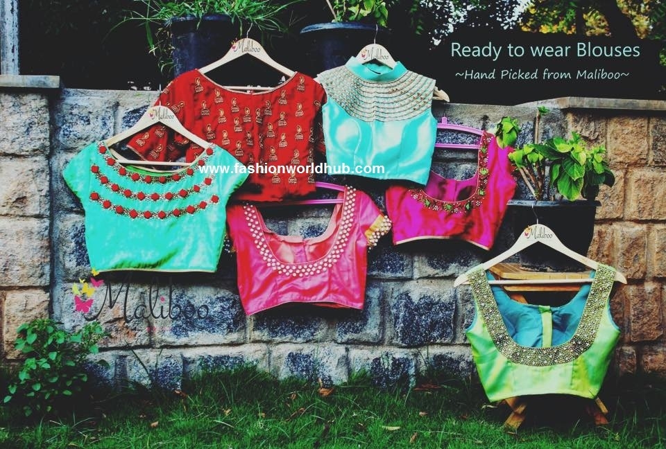 Ready made blouses from malliboo
