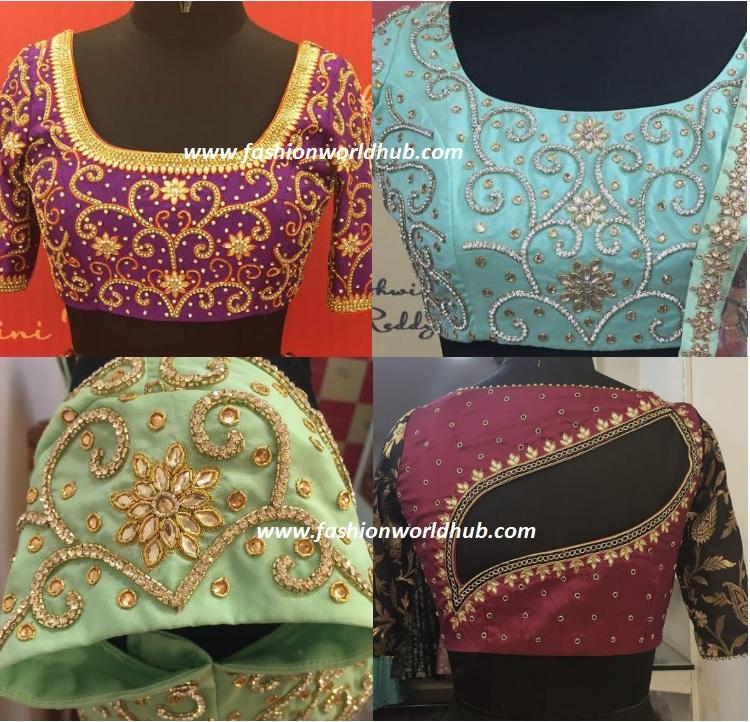 ashwini reddy blouse designs