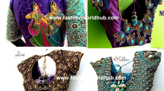Designer bridal blouses – Maliboo boutique.