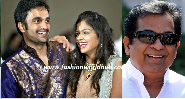Congratulations! Brahmanandam becomes a grand dad.