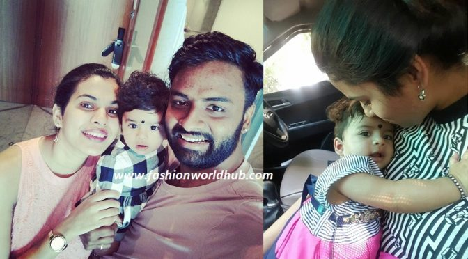 Adorable photos of Sravana bhargavi & Vedala Hemachandra baby photos!