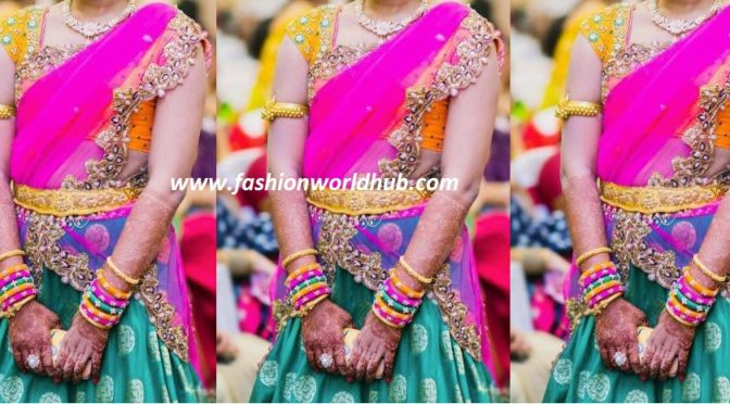 Beautiful Lehenga honi from Ashwini Reddy