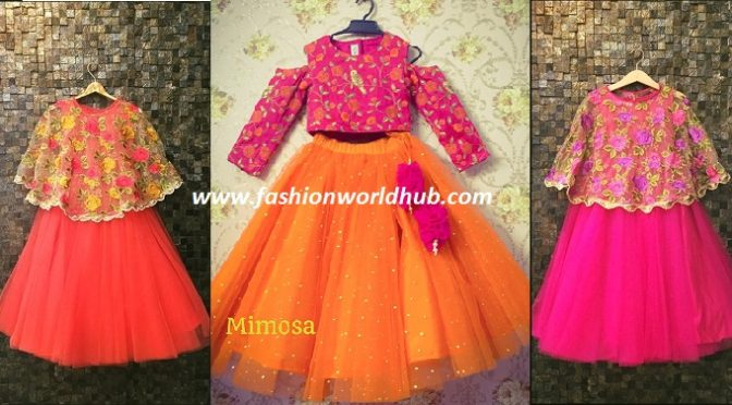 Alluring Kids Dresses by Mimosa