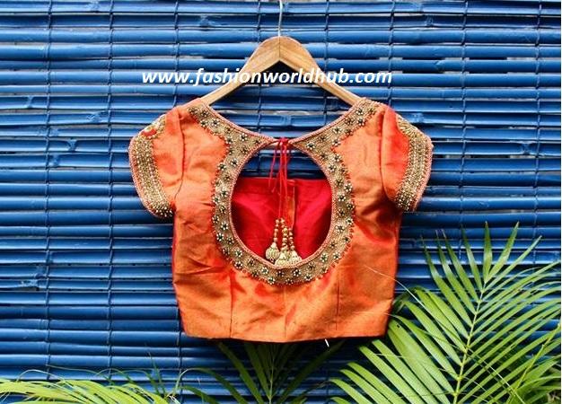 maggam work -fashionworldhub14