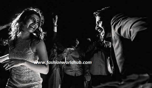 Samantha & nagachaitanya engagement party photoshoot pics!
