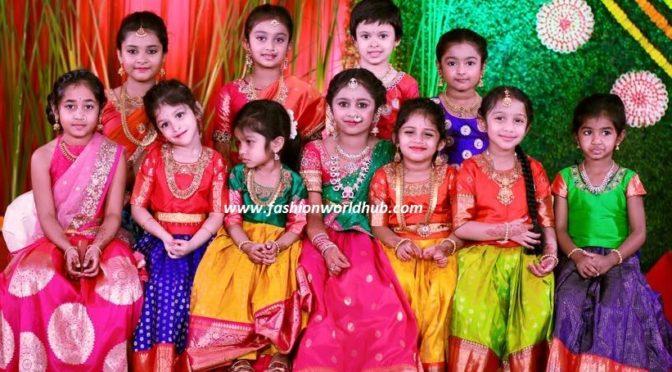 Kids Lehangas – Kanyaa the Designer Boutique