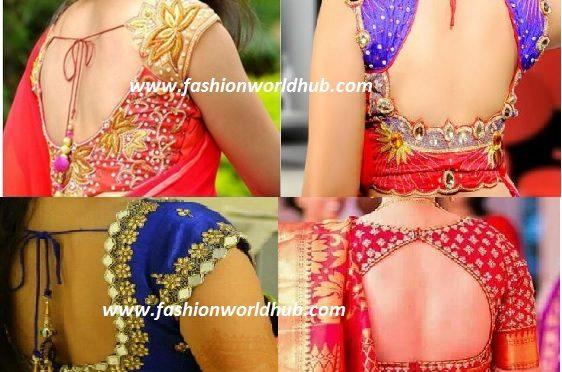 Latest blouse designs ~Fashionworldhub~