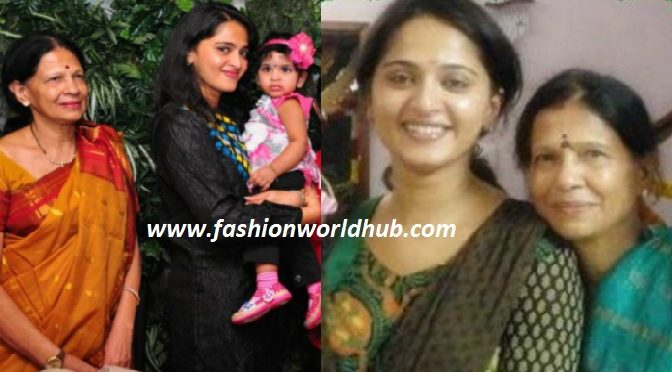 This picture of anushka ( sweety) with her mother is quite adorable!