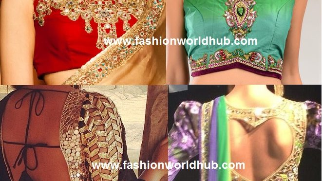 Top 15 Flawless blouse design collections!