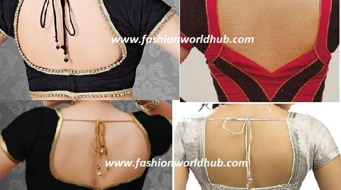 Beautiful Saree Blouse Patterns!