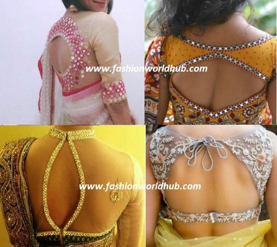 cut out blouse designs 3