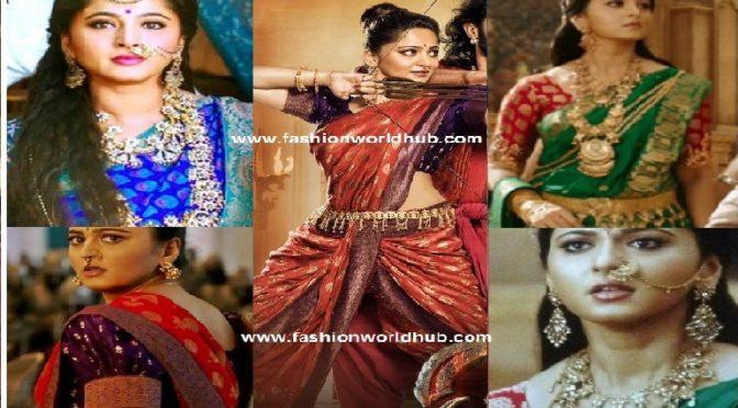 Anushka sheety jewellery in Baahubali2 -Designed by Amarpali (buy online)