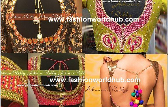 Blouse designs – Ashwini Reddy