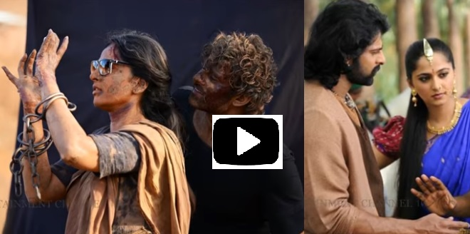 Fun on sets at Bahubali 2 .Very funny watch this video!!!
