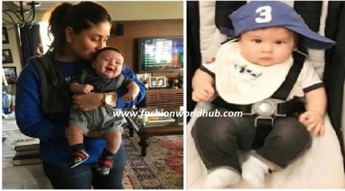 Adorable photo of kareena kapoor son taimur is breaking internet again!!