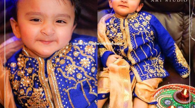 Designer kids Dhoti designs- Fashion boutique stores
