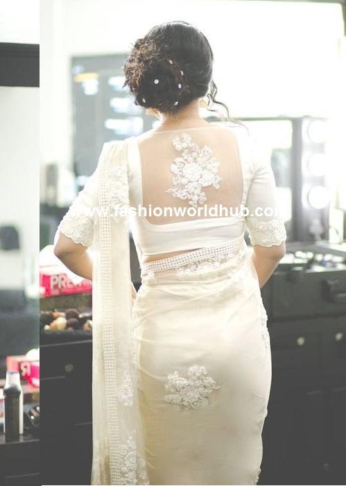 white saree2