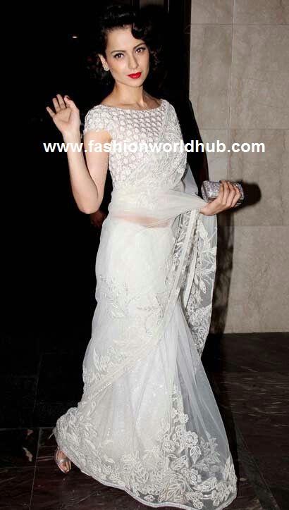 white sarees 5
