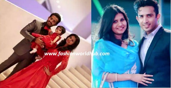 Anchor Ravi with his Lovely daughter & wife!