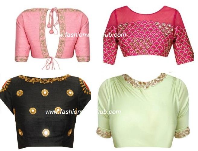 Emb blouses