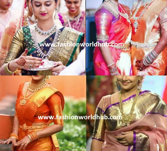 blouse designs with borders