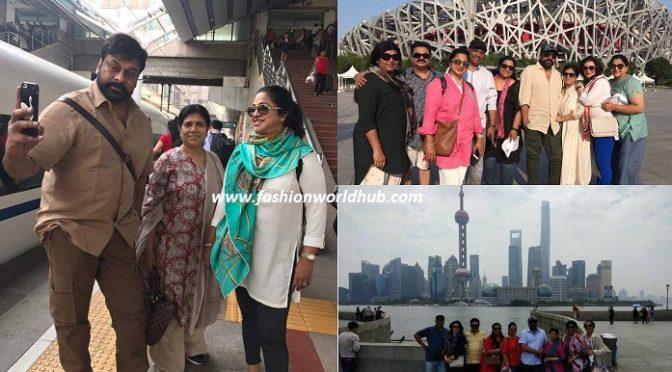 Chiranjeeevi China Trip with 80's Stars – Photos
