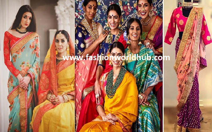 designer saree collections