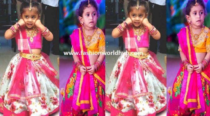 Beautiful Kids Lehengas – Anitha Reddy Designs