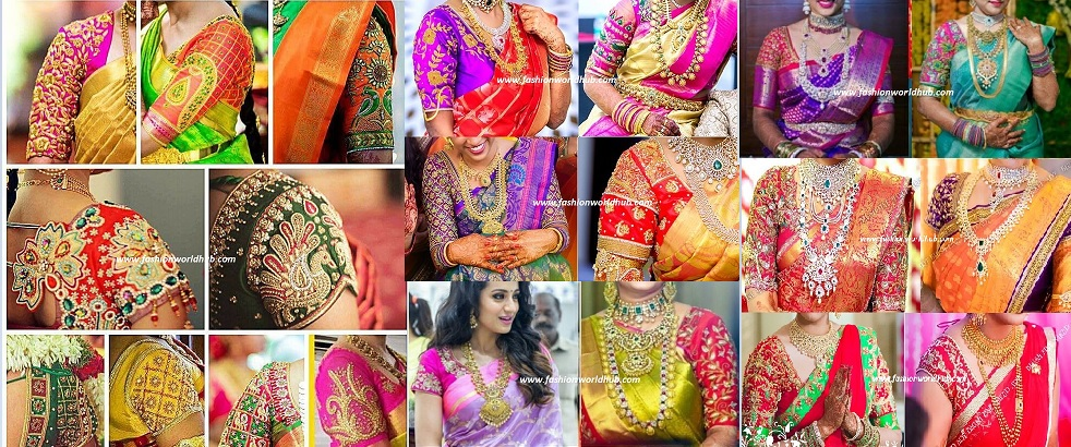 1dc123d31cf90 Also Read – 50 Mind blowing – 2018 Maggam work blouse designs