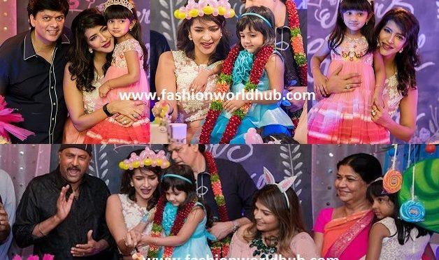 Lakshmi Manchu daughter Vidya Nirvana 3rd birthday celebration photos!