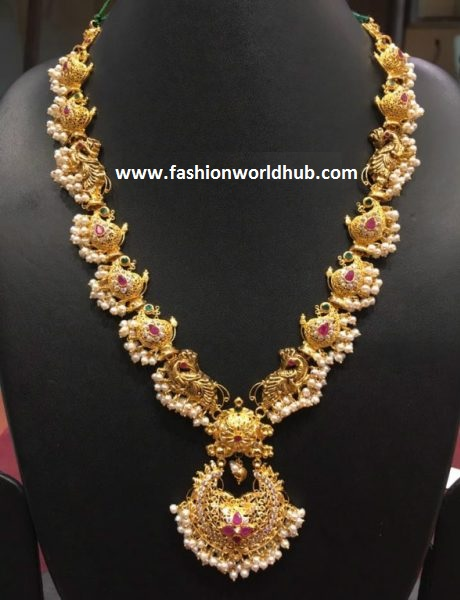Paisley Design Gold Haram Fashionworldhub