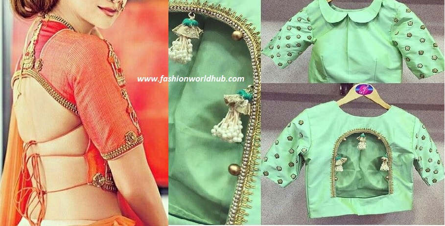 statemet blouse designs