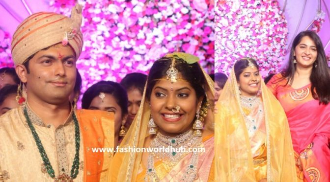 Producer shyam prasad daughter Maithri wedding photos!