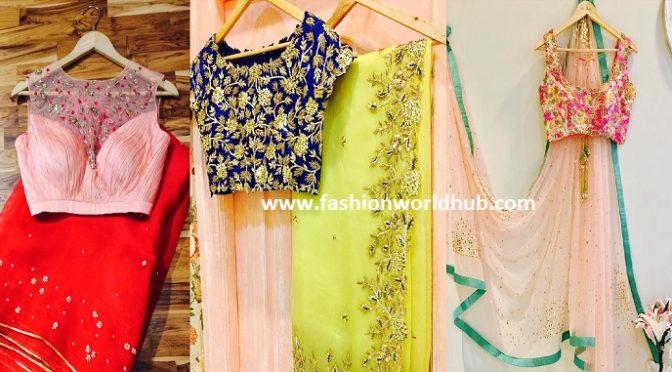 Trendy designer sarees by Issa studio