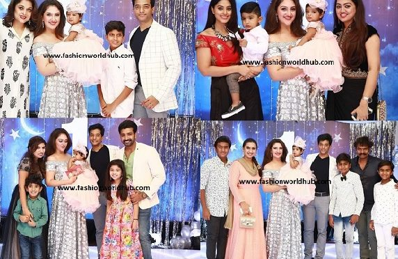 Celebrites at sridevi vijaykumar daughter birthday.