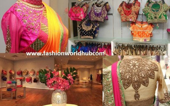 Top fashion boutique Stores to Buy Readymade Designer Blouses in Hyderabad