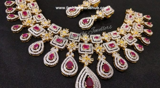 One gram gold Necklace design