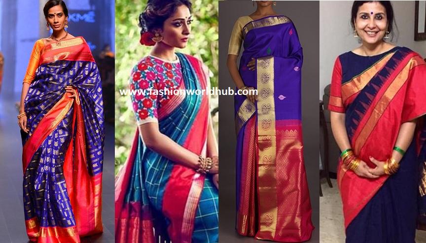 Must Have Eye Catching Kanjeevaram Saree In Women Wardrobe