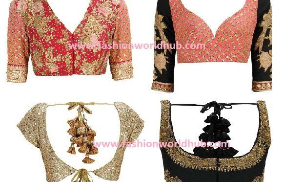 Sabyasachi Blouse Designs Fashionworldhub