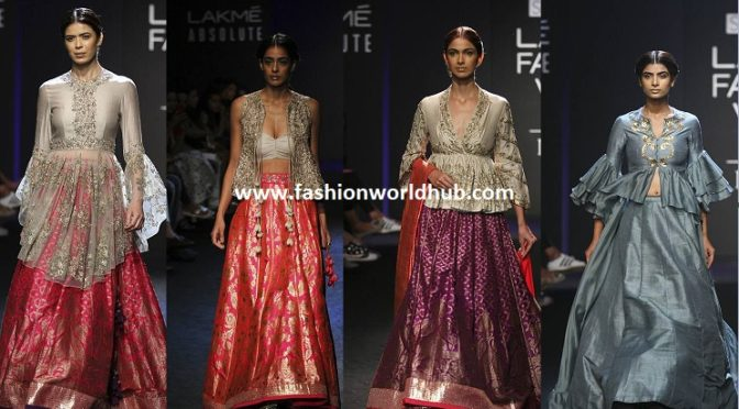 Jayanti Reddy at Lakme Fashion Week Winter/Festive 2017