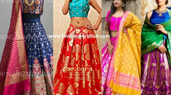 A Trousseau Must Have gorgeous Banarasi Lehengas