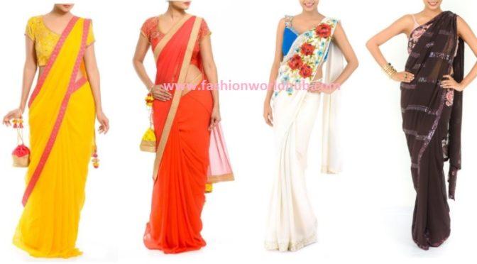 Designer sarees ( Buy online)