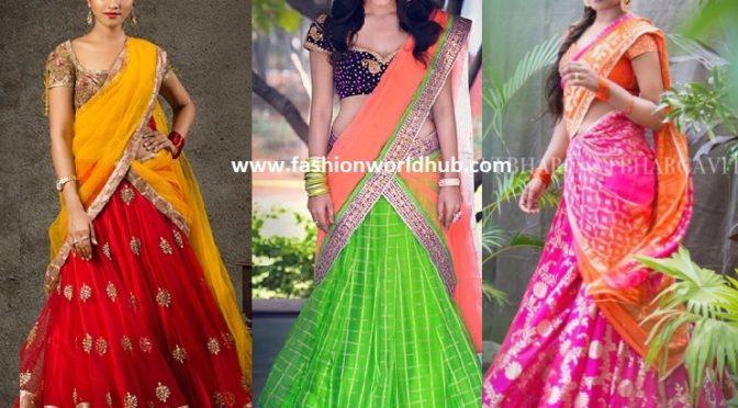 Gorgeous Bhargavi Kunam Lehengas designs!