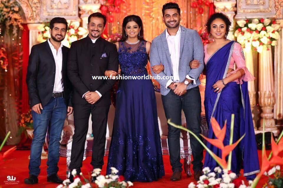 Actress Priyamani And Mustafa Raj Wedding Reception Photos
