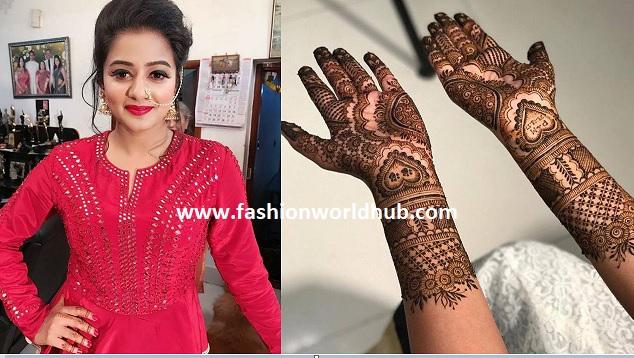 Actress Priyamani Sangeet and Mehendi function photos!
