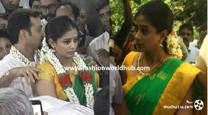 Actress Priyamani wedding video