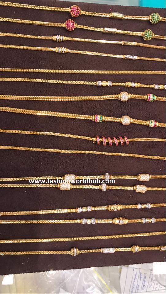 mangalasutram or thali designs fashionworldhub